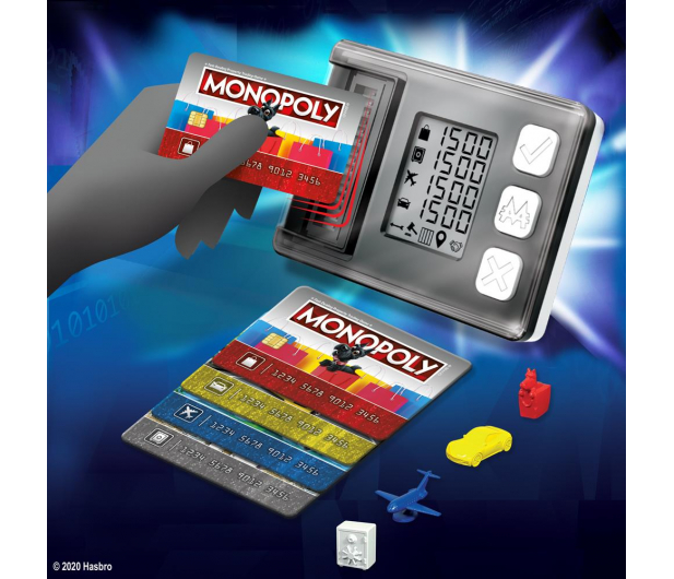 Hasbro Monopoly Super Electronic Banking - 1008089 - zdjęcie 3