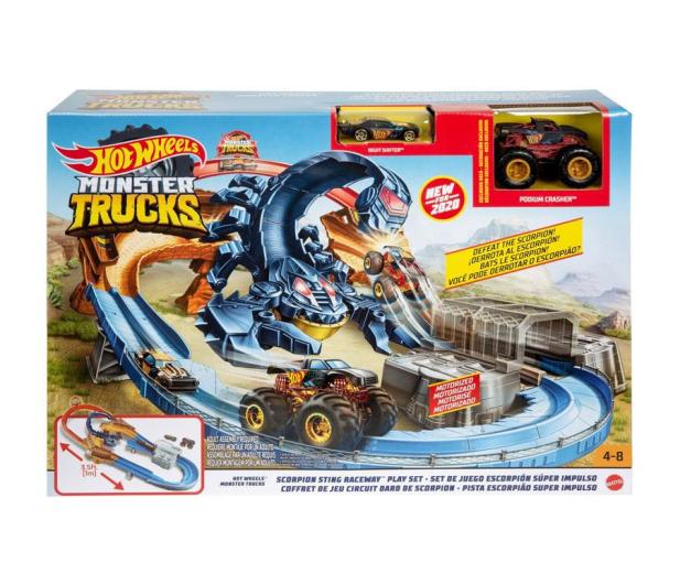 Hot Wheels Monster Trucks Tor Skorpion - 1008227 - zdjęcie 4