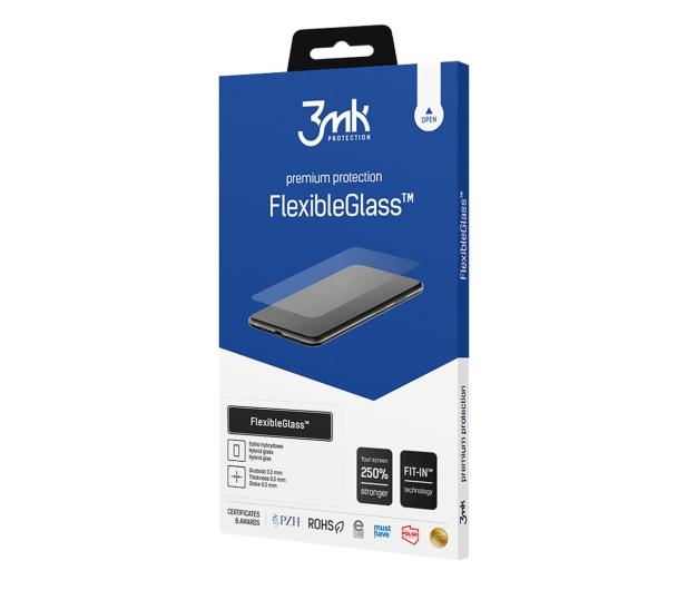 3mk Szkło Flexible Glass do Motorola Moto G8 - 567889 - zdjęcie 2