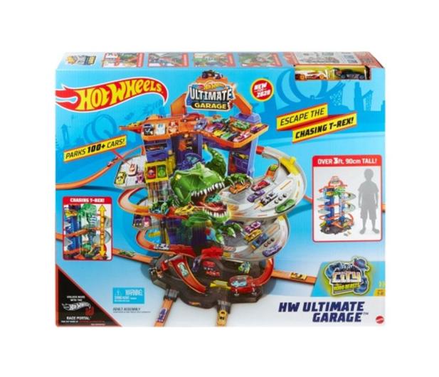 Hot Wheels Mega Garaż T-Rexa - 1008226 - zdjęcie 3
