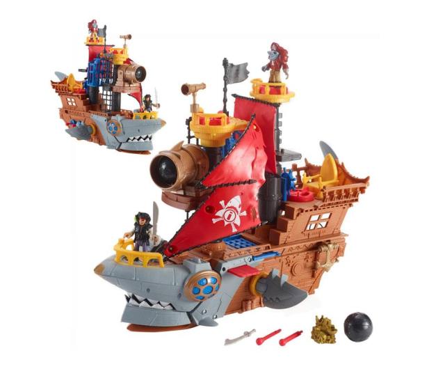 Fisher-Price Imaginext Statek piracki Rekin - 1007698 - zdjęcie