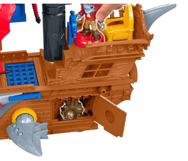 Fisher-Price Imaginext Statek piracki Rekin - 1007698 - zdjęcie 3