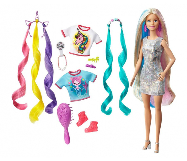 Barbie Baśniowa fryzura - 1007700 - zdjęcie