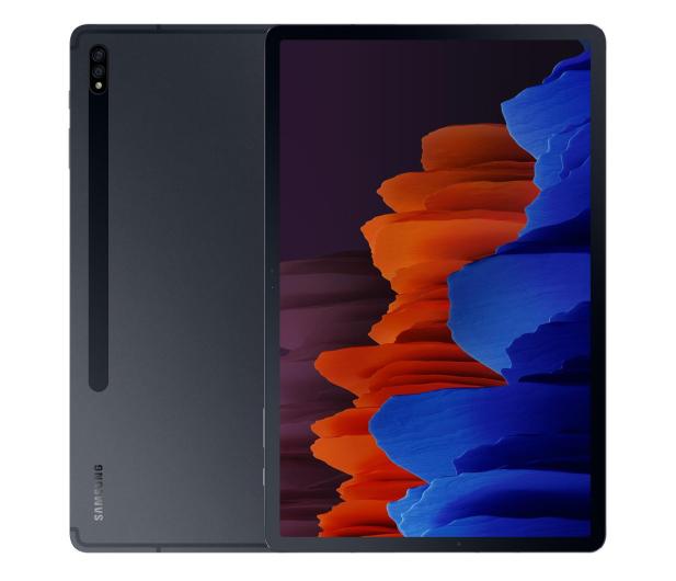 """Samsung Galaxy Tab S7+ 12.4"""" T976 5G 6/128GB czarny - 582698 - zdjęcie"""