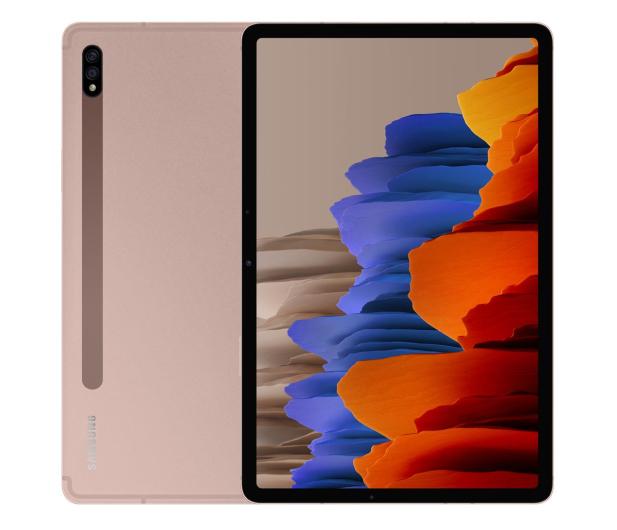 """Samsung Galaxy Tab S7 11"""" T875 LTE 6/128GB miedziany - 582693 - zdjęcie"""
