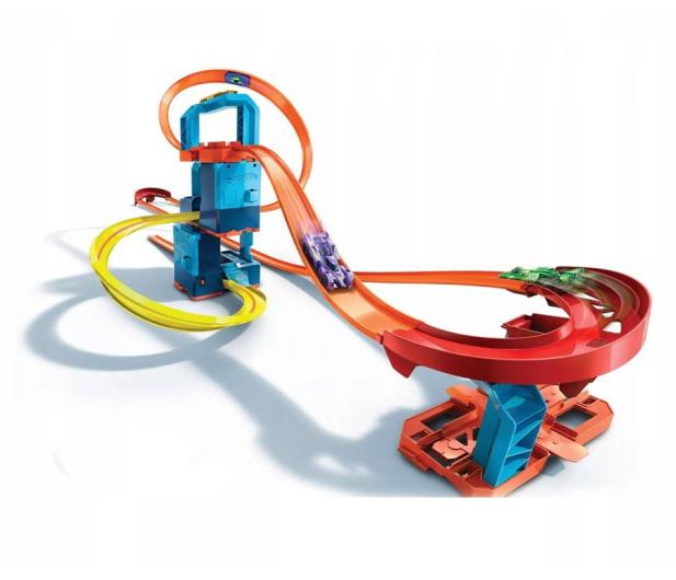Hot Wheels Track Builder Zestaw Ultraprzyspieszenie - 1009039 - zdjęcie