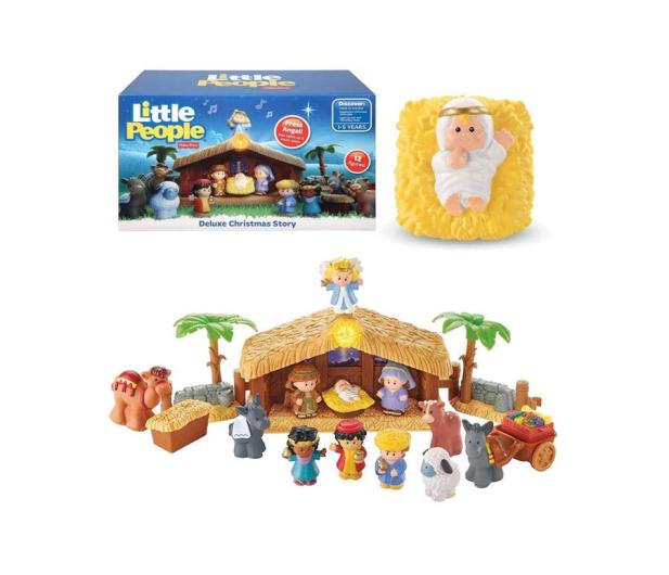 Fisher-Price Little People Szopka bożonarodzeniowa - 1008238 - zdjęcie 2