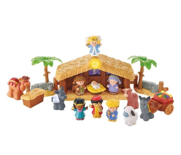 Fisher-Price Little People Szopka bożonarodzeniowa - 1008238 - zdjęcie