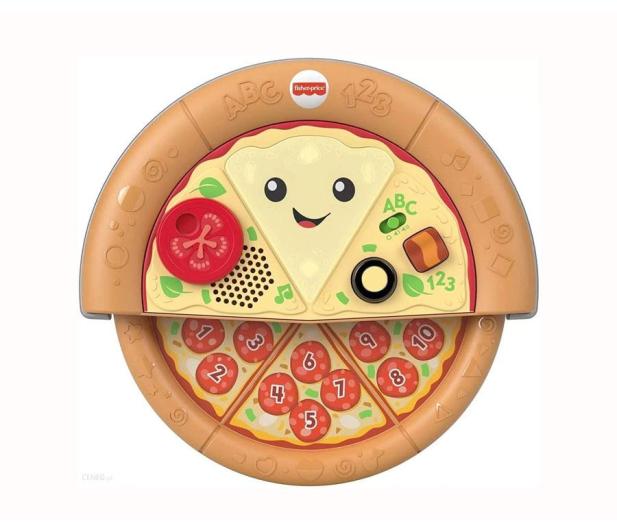 Fisher-Price Wesoła pizza - pyszna nauka - 1009146 - zdjęcie