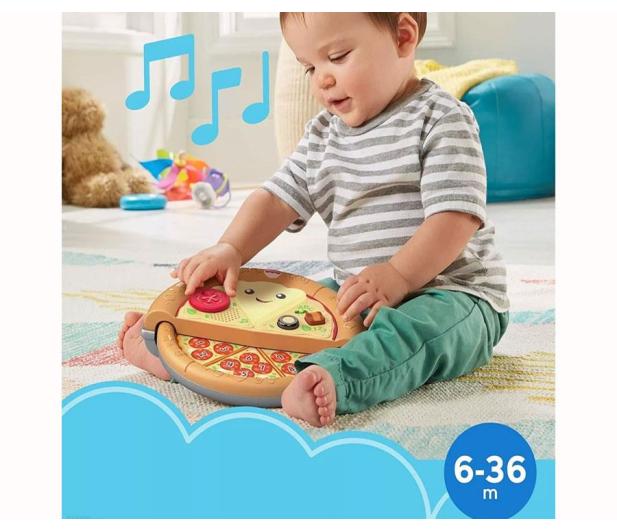 Fisher-Price Wesoła pizza - pyszna nauka - 1009146 - zdjęcie 2