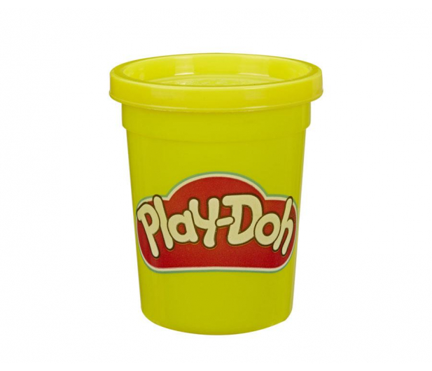 Play-Doh Ciastolina Tuby uzupełniające 12-pak żółty - 1009245 - zdjęcie 2