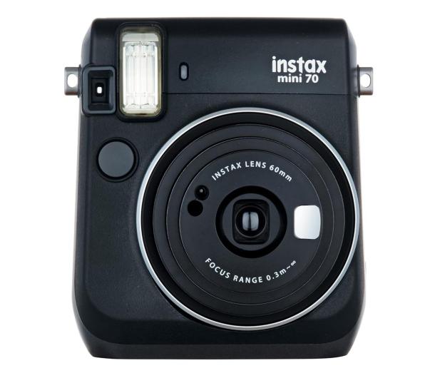 Fujifilm Instax Mini 70 czarny+ wkłady 2x10+ etui czerwone - 619877 - zdjęcie