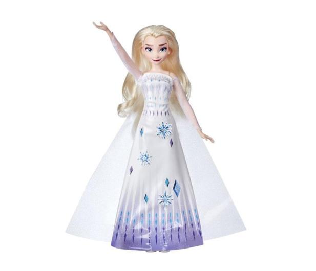 Hasbro Frozen 2 Lalka Elsa z suknią do malowania - 1009297 - zdjęcie
