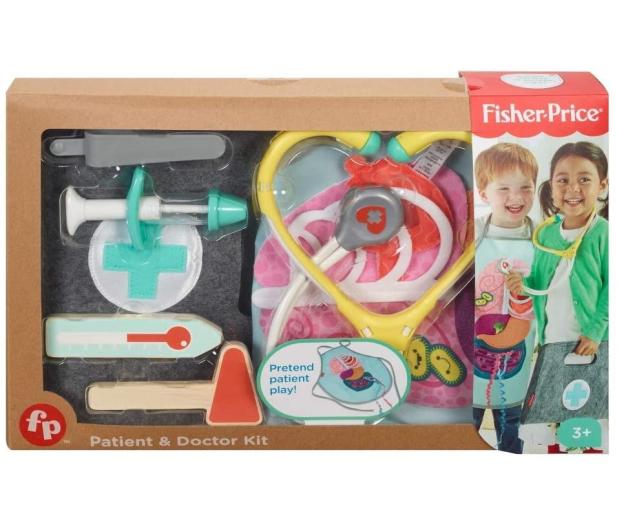Fisher-Price Drewniany zestaw lekarza - 1009333 - zdjęcie 2