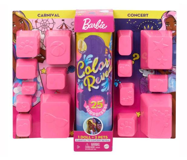 Barbie Color Reveal Kolorowa Maksiniespodzianka - 1008275 - zdjęcie