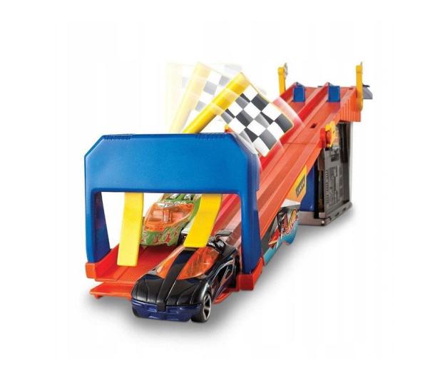 Hot Wheels Wyścigowy warsztat z torem - 1009380 - zdjęcie 2
