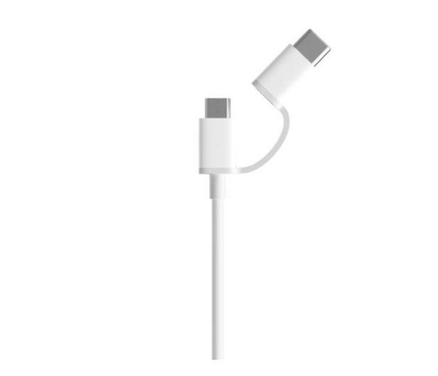 Xiaomi Mi 2-in-1 USB Cable (Micro USB to Type C) 30cm - 590964 - zdjęcie 2
