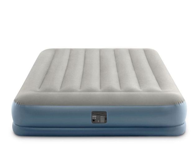 INTEX Dmuchane łóżko Dura-Beam Standard Queen z poduszką - 1009352 - zdjęcie 4