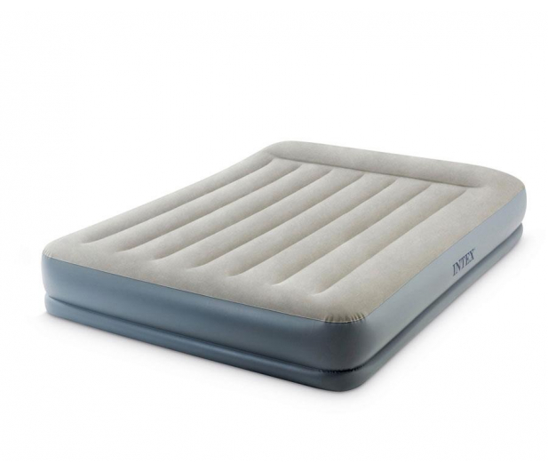 INTEX Dmuchane łóżko Dura-Beam Standard Queen z poduszką - 1009352 - zdjęcie