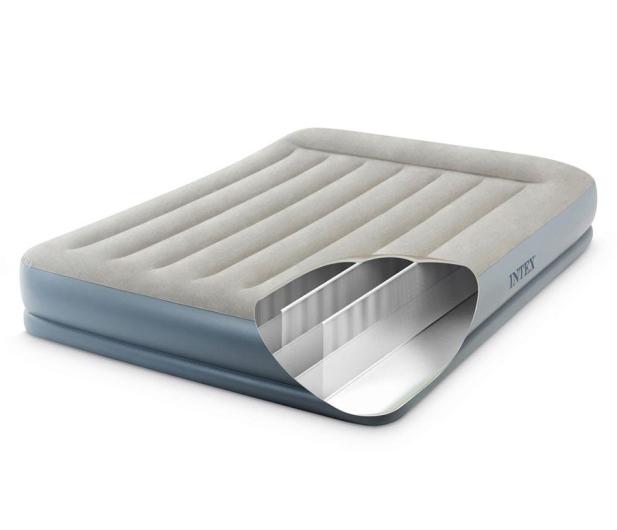 INTEX Dmuchane łóżko Dura-Beam Standard Queen z poduszką - 1009352 - zdjęcie 5