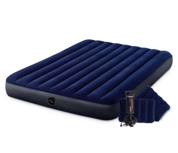 INTEX Dmuchane łóżko Dura-Beam Standard Classic Queen Zestaw - 1009465 - zdjęcie