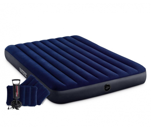 INTEX Dmuchane łóżko Dura-Beam Standard Classic Queen Zestaw - 1009465 - zdjęcie 2