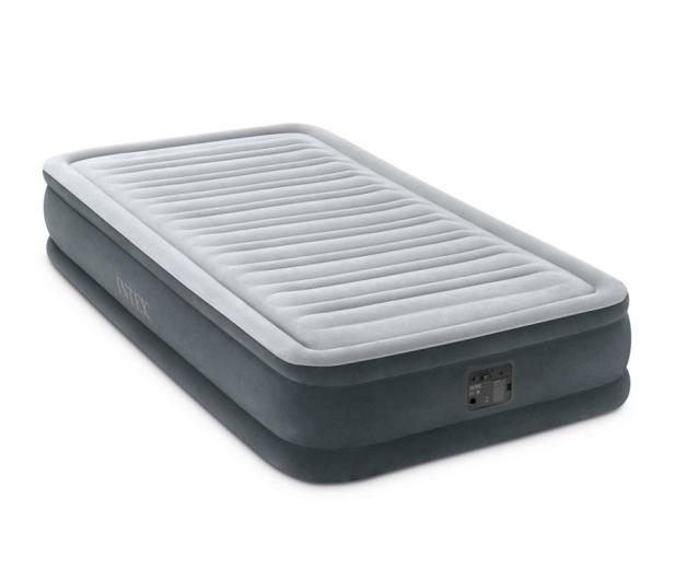 INTEX Dmuchane łóżko Dura-Beam Deluxe Twin z pompką - 1009469 - zdjęcie 2
