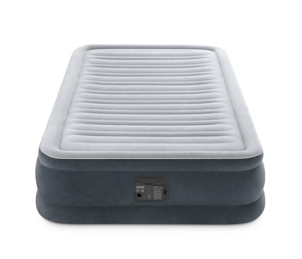 INTEX Dmuchane łóżko Dura-Beam Deluxe Twin z pompką - 1009469 - zdjęcie 3