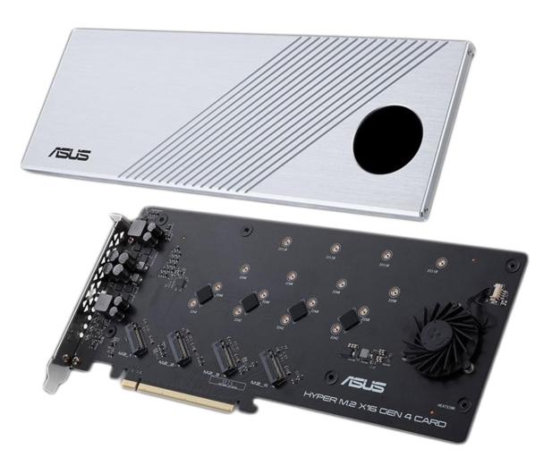 ASUS HYPER M.2 X16 GEN 4 CARD - 590072 - zdjęcie 2