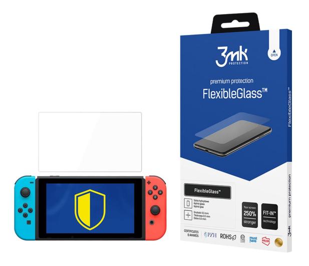 3mk Szkło Flexible Glass do Konsoli Nintendo Switch - 565802 - zdjęcie