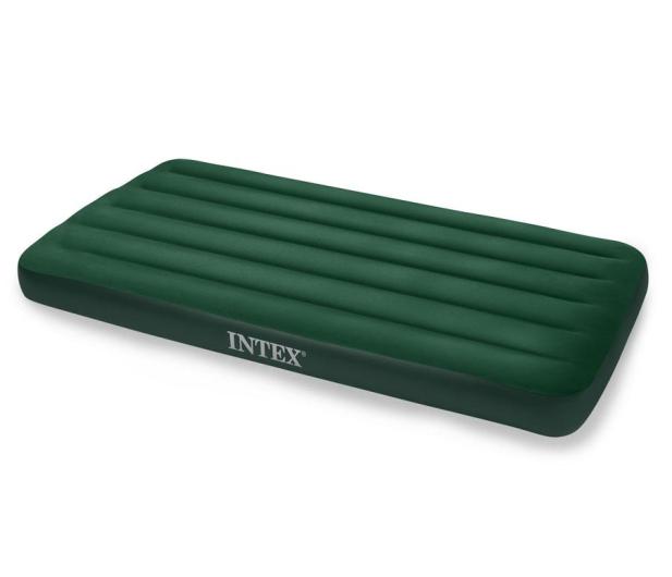 INTEX Dmuchane łóżko Prestige Twin z pompką na baterie - 1009468 - zdjęcie