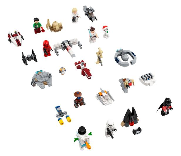 LEGO Star Wars Kalendarz adwentowy - 1008579 - zdjęcie 2