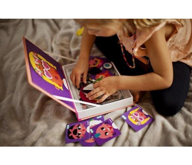 Janod Magnetyczna układanka Śmieszne buzie Dziewczynka Magnetibook - 1008696 - zdjęcie 6