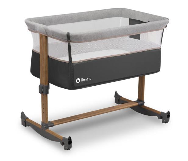 Lionelo Leonie - łóżeczko dziecięce 3w1 Grey Stone - 1013752 - zdjęcie