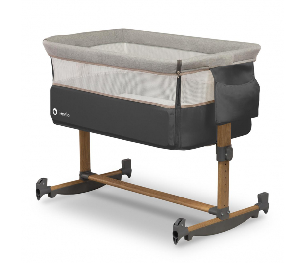 Lionelo Leonie - łóżeczko dziecięce 3w1 Grey Stone - 1013752 - zdjęcie 2