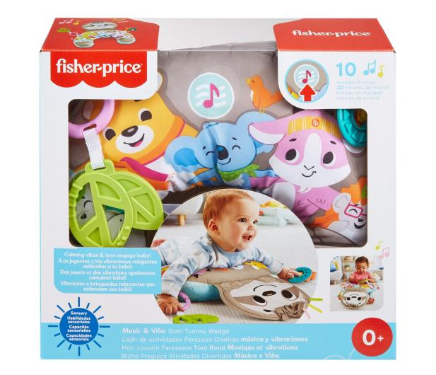 Fisher-Price Muzyczny Leniwiec Poduszka z wibracjami - 1013892 - zdjęcie 7