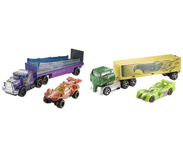 Hot Wheels Ciężarówka + samochód - 1013905 - zdjęcie 3