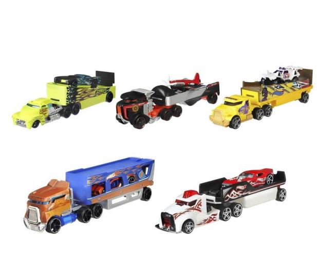 Hot Wheels Ciężarówka + samochód - 1013905 - zdjęcie