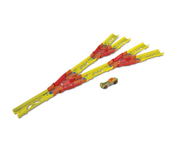 Hot Wheels Track Builder Zestaw do rozbudowy Split track pack - 1012409 - zdjęcie 2