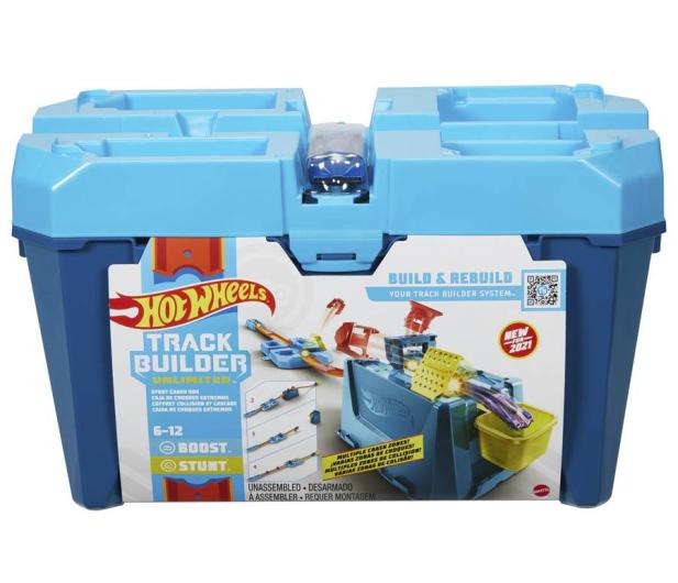 Hot Wheels Track Builder Kaskaderskie kraksy - 1013916 - zdjęcie