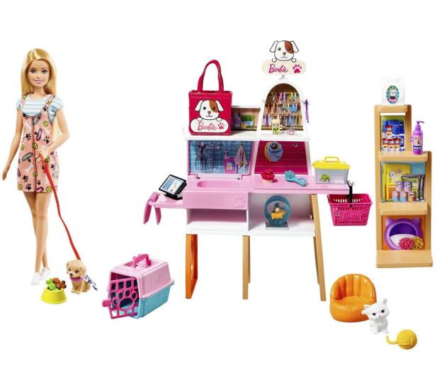 Barbie Sklepik - salon dla zwierzaków - 1013934 - zdjęcie