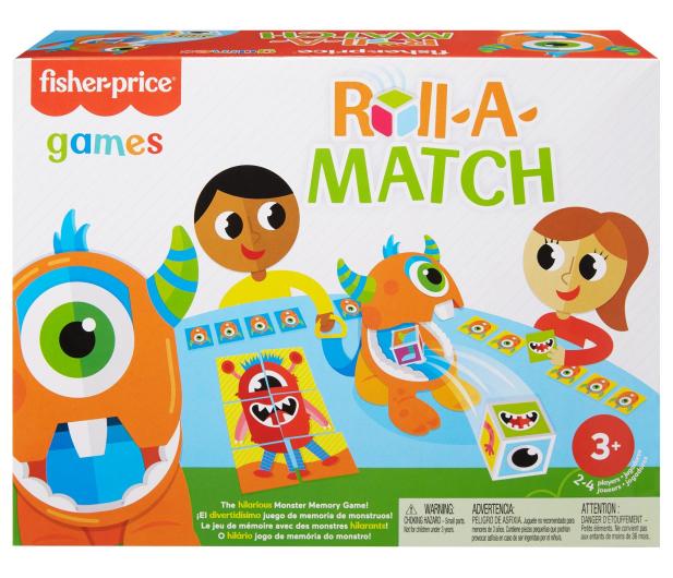 Fisher-Price Potworkowe Memory Gra dla dzieci - 1014016 - zdjęcie 7