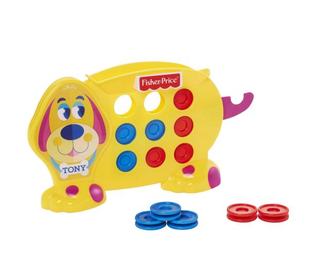 Fisher-Price Ułóż 3 Gra dla dzieci - 1014017 - zdjęcie