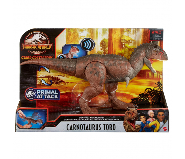Mattel Jurassic World Karnotaur Toro - 1014022 - zdjęcie 5