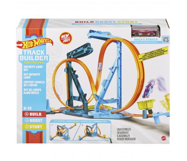 Hot Wheels Track Builder Pętla Megatransformacja - 1013949 - zdjęcie 4