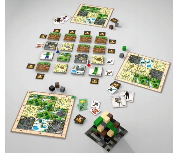 Ravensburger Minecraft Gra Planszowa - 1013385 - zdjęcie 2