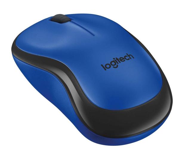 Logitech M220 Silent (niebieska)  - 329385 - zdjęcie 4