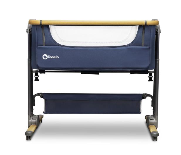 Lionelo Timon 3w1 Blue Navy łóżeczko dostawne + materac - 1012032 - zdjęcie 2