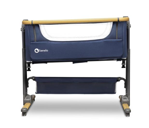 Lionelo Timon 3w1 Blue Navy łóżeczko dostawne + materac - 1012032 - zdjęcie 3