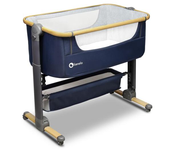 Lionelo Timon 3w1 Blue Navy łóżeczko dostawne + materac - 1012032 - zdjęcie 7